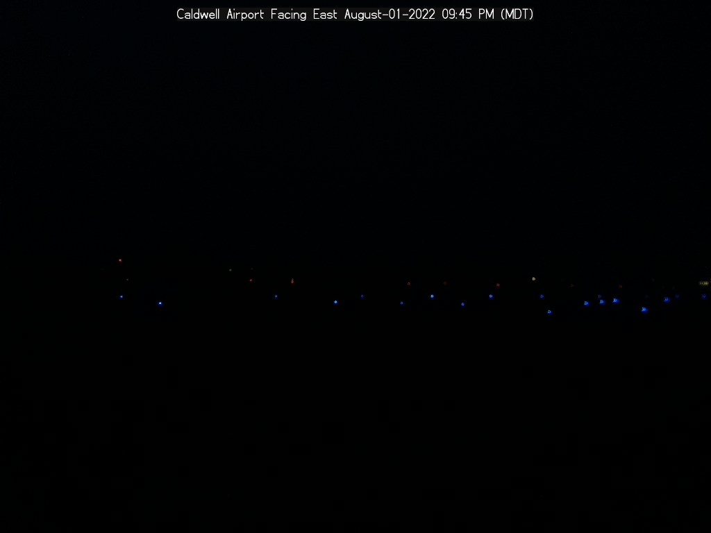 Picture of Caldwell Airport web cam looking East