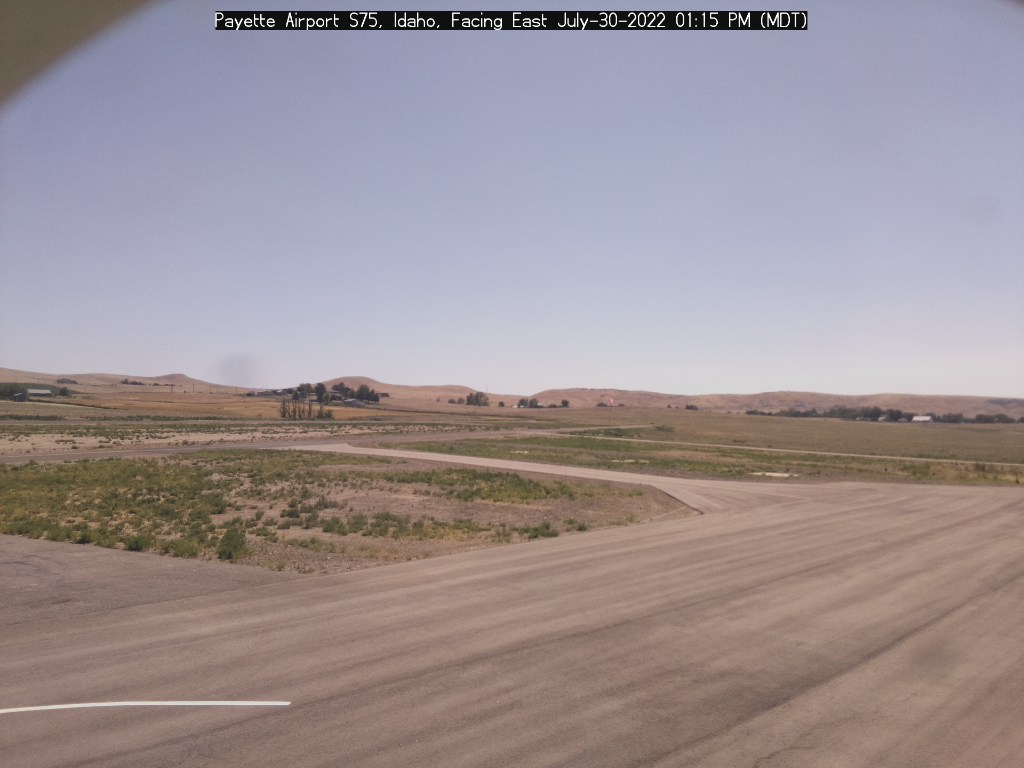 Picture of Payette Airport web cam looking east
