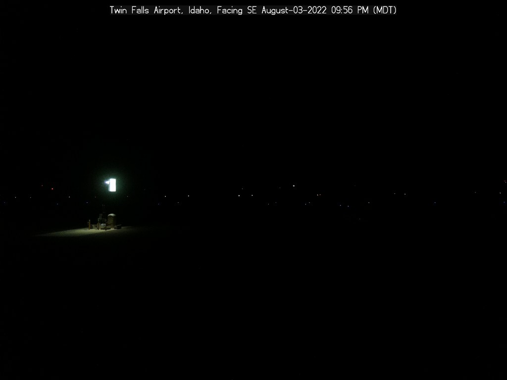 Picture of Twin Falls Airport web cam looking southeast
