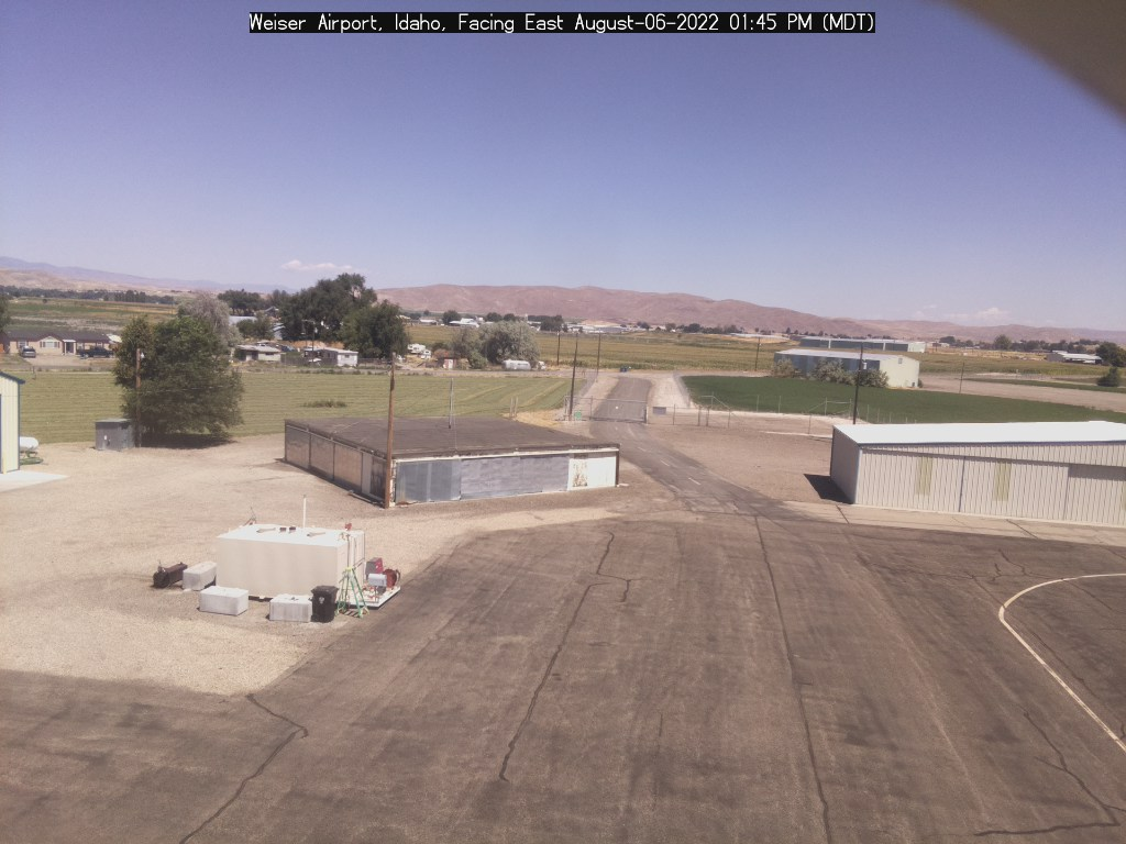 Picture of Weiser airport web cam looking east